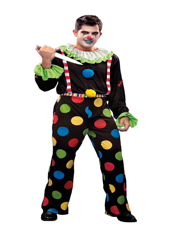 disfraz de payaso diabolico hombre