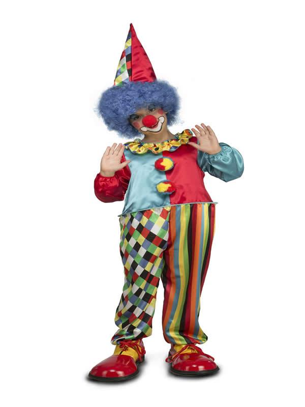 disfraz de payaso gordinflon niño