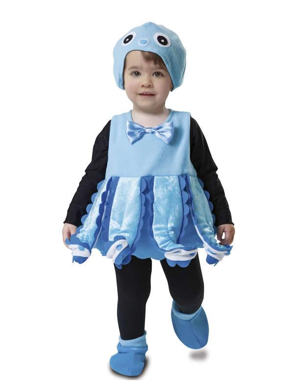 disfraz de pequeño pulpo para niño