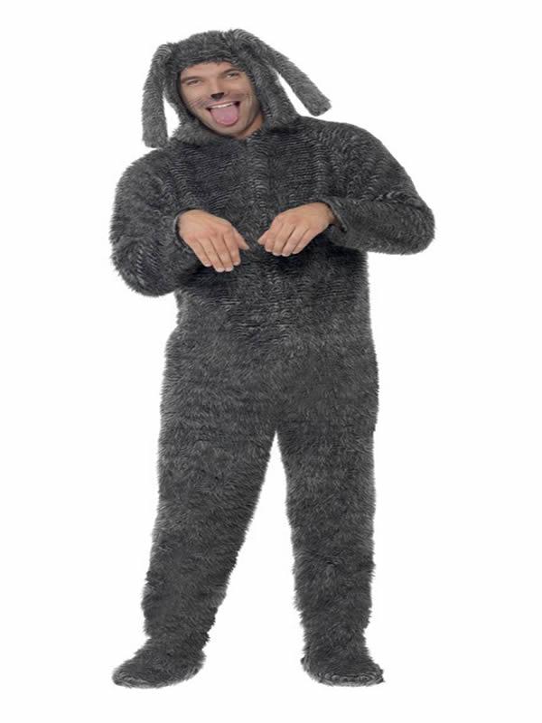 disfraz de perro adorable hombre