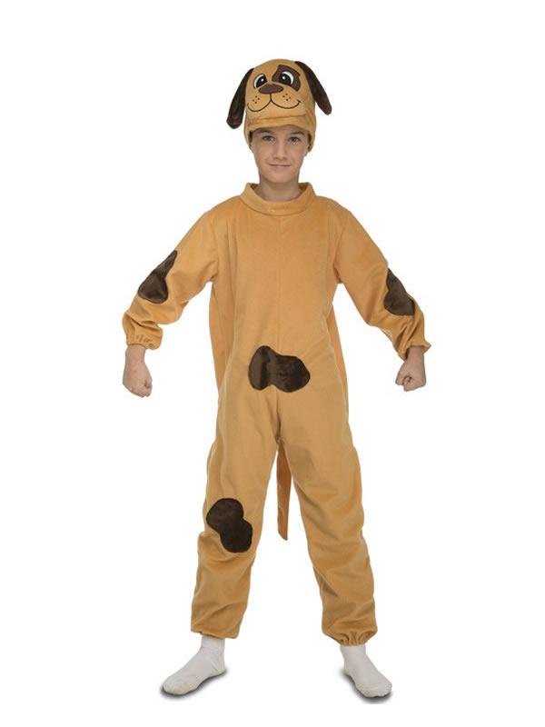 disfraz de perro con manchas para niño