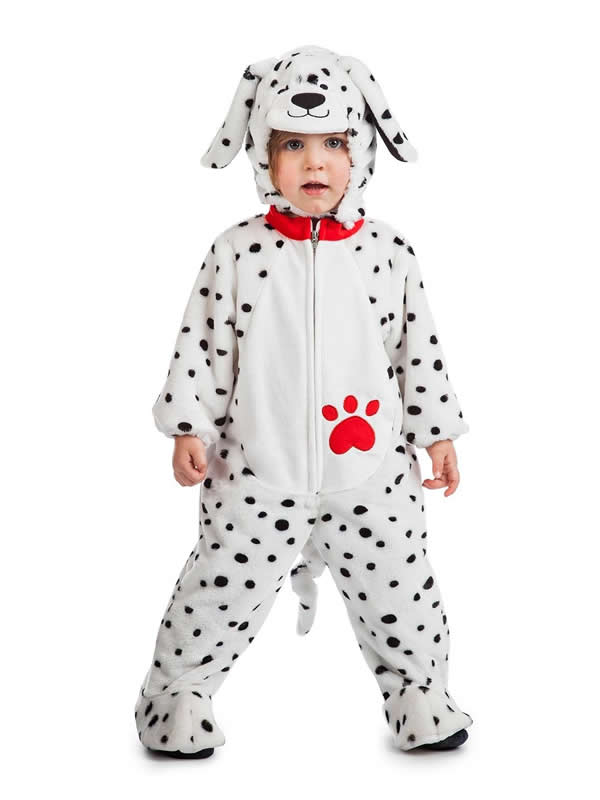 disfraz de perro dalmata peluche bebe