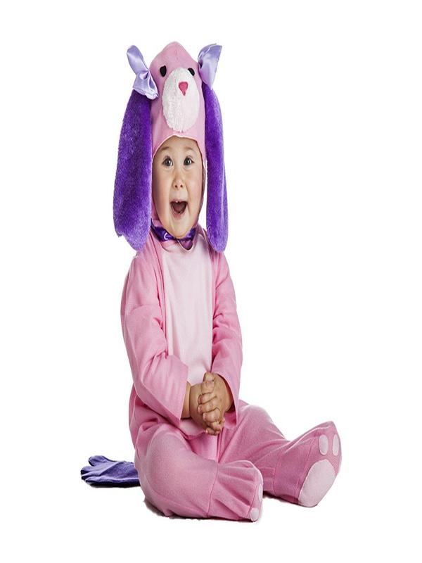 disfraz de perro rosa bebe k0884 - Los 10 mejores Disfraces de Animales para tu Fiestas