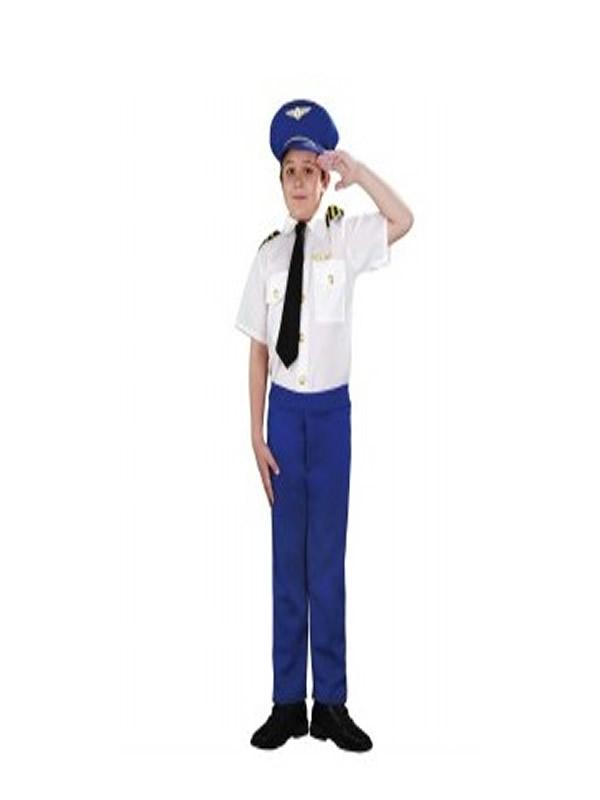 disfraz de piloto aerolinea niño