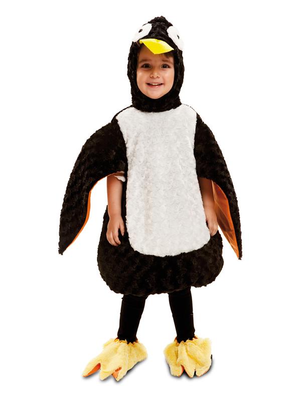 disfraz de pinguino de peluche niño
