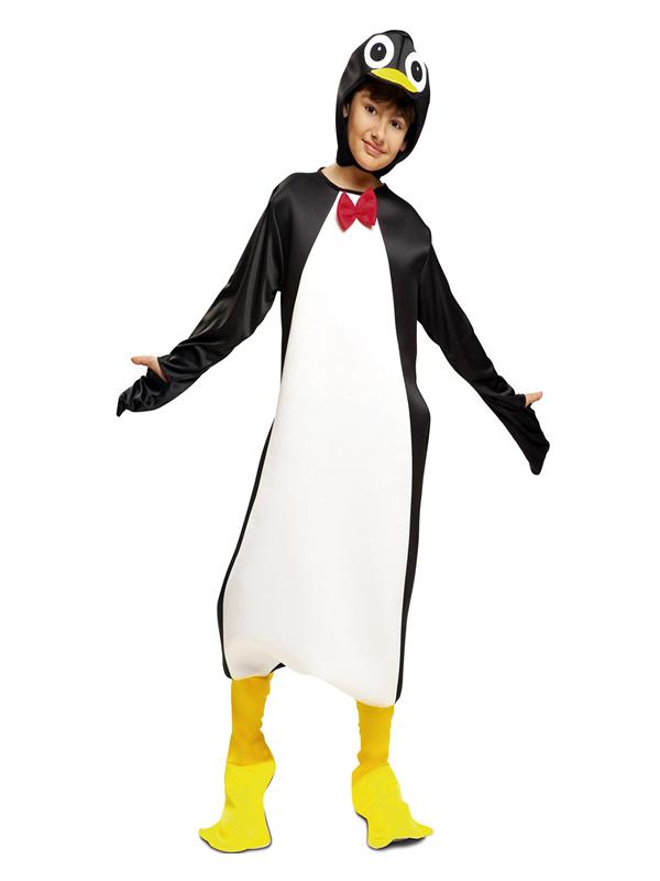 disfraz de pinguino divertido niño