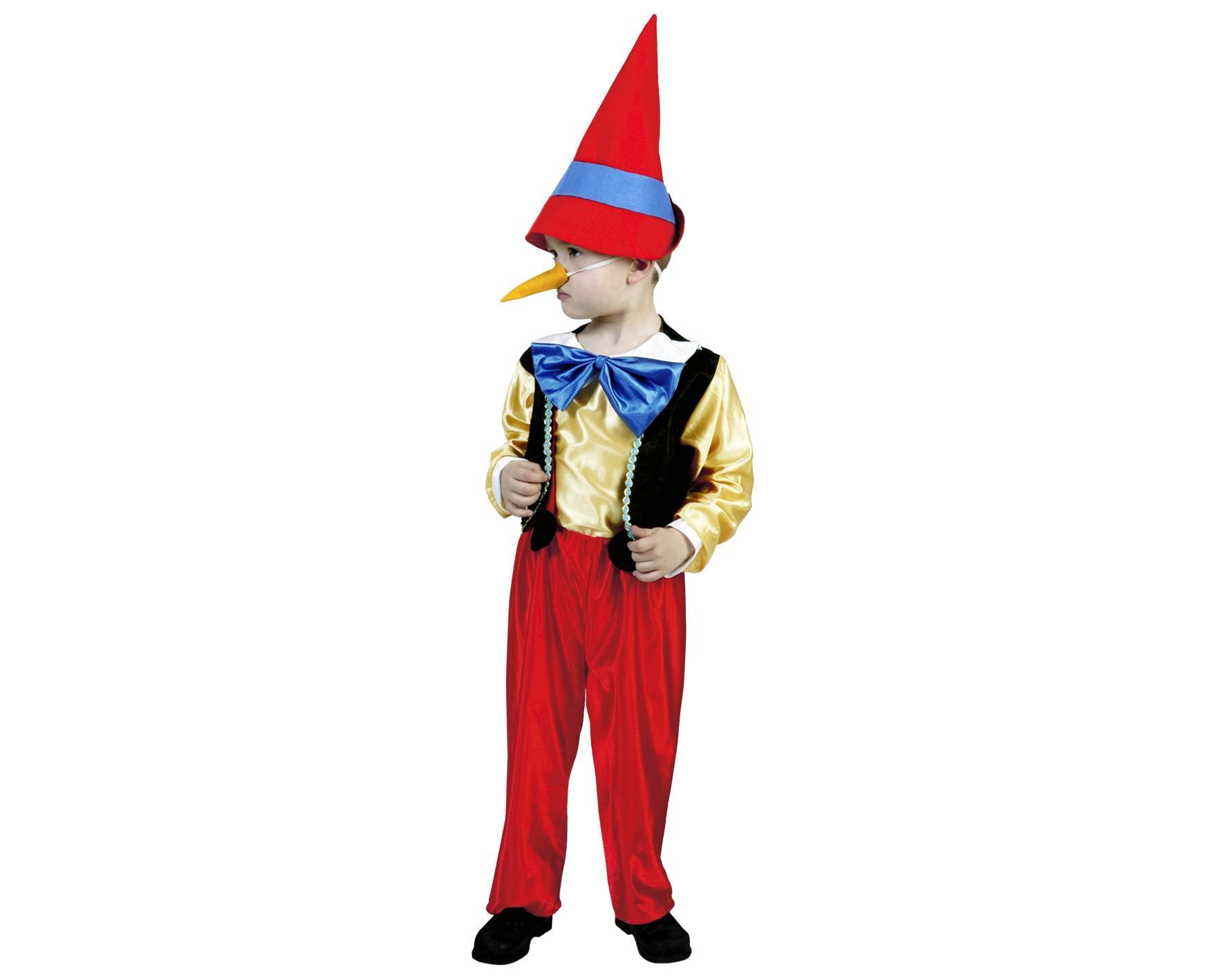 disfraz de pinocho barato niño