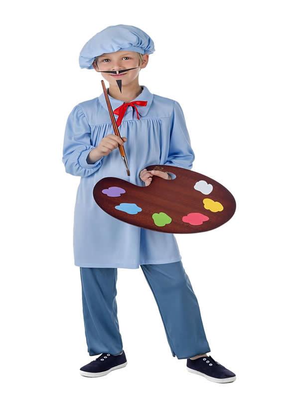 disfraz de pintor para infantil