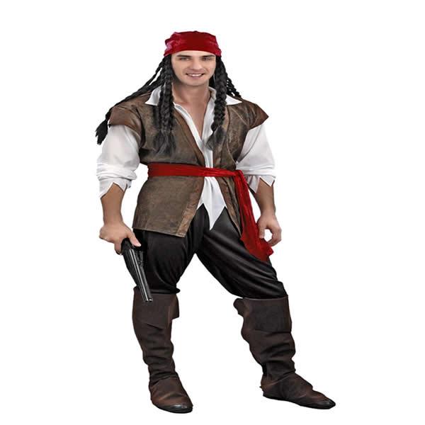 disfraz de pirata corsario hombre