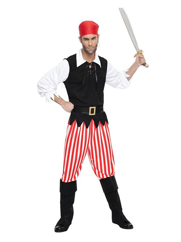 disfraz de pirata corsario para hombre