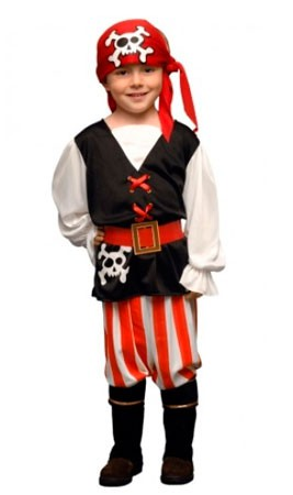 disfraz de pirata jack niño