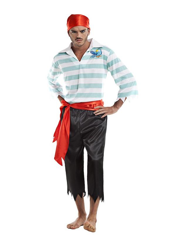 disfraz sencillo para un hombre disfraz de pirata adulto ...