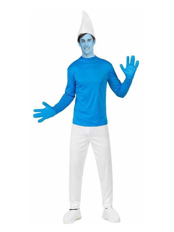 disfraz de pitufo para hombre
