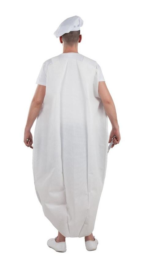 disfraz de plato combinado para hombre