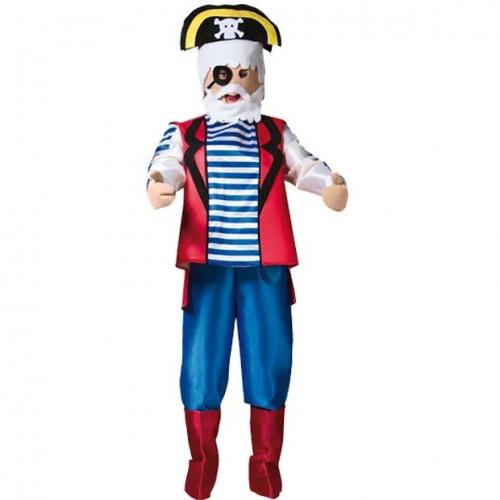 disfraz de playmobil pirata adulto