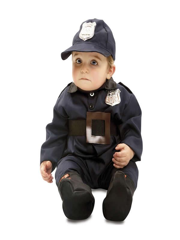 disfraz de policia para bebe