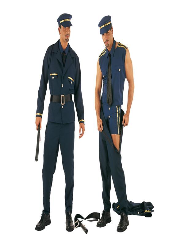 disfraz de policia sexy para hombre
