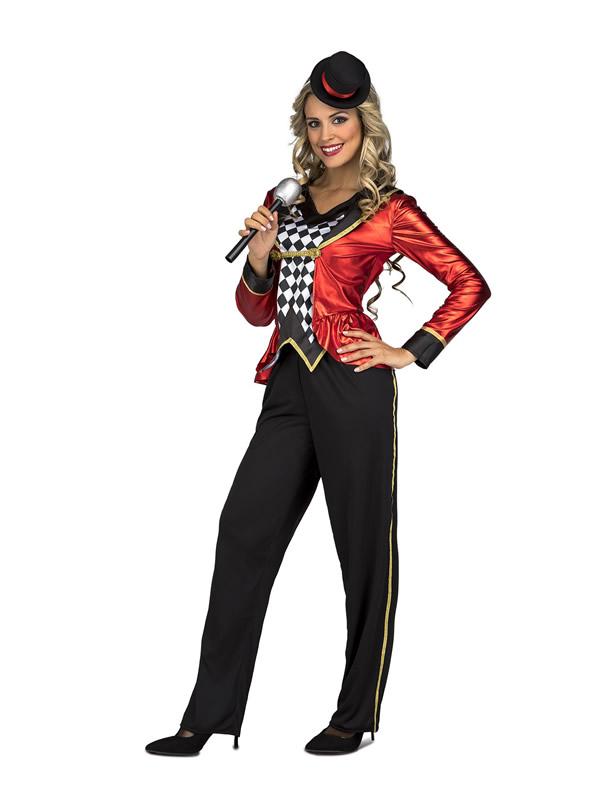 disfraz de presentadora de ceremonias para mujer