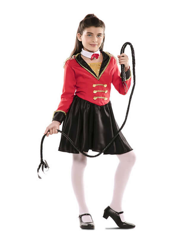 disfraz de presentadora de circo para niña
