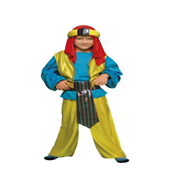 disfraz de principe arabe niño