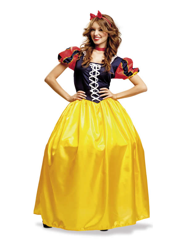disfraz de princesa blancanieves mujer
