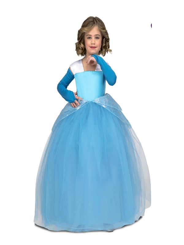 disfraz de princesa cenicienta con tutu niña