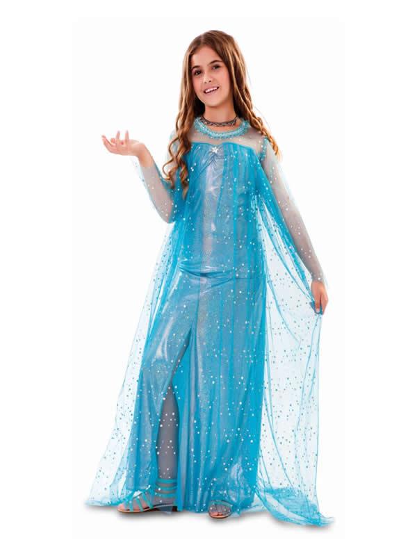 disfraz de princesa del hielo niña