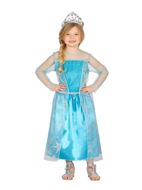 disfraz de princesa hielo para nina gui10026 - Ideas de los mejores disfraces disney infantiles