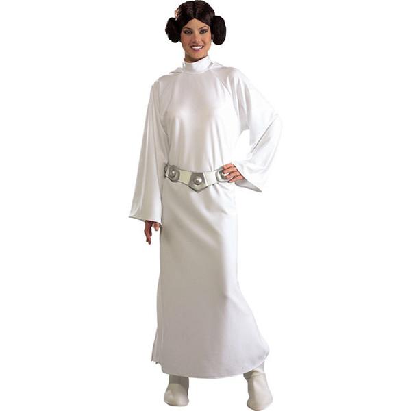 disfraz de princesa leia deluxe mujer