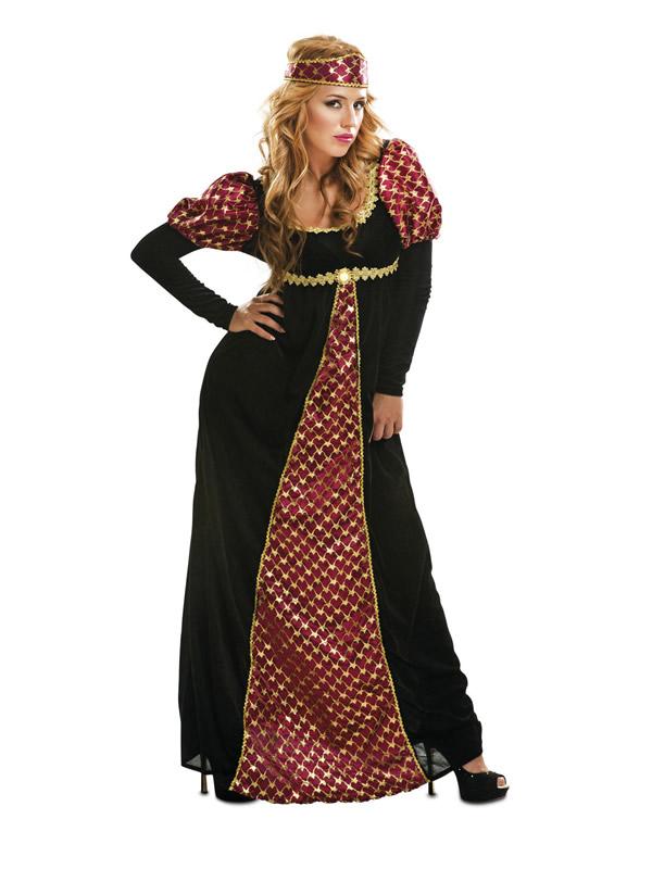 disfraz de princesa medieval para mujer