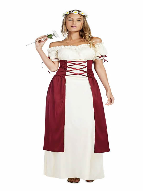 disfraz de princesa medieval para mujer k2766 - ¿Cómo organizar una boda medieval con disfraces medievales adultos?