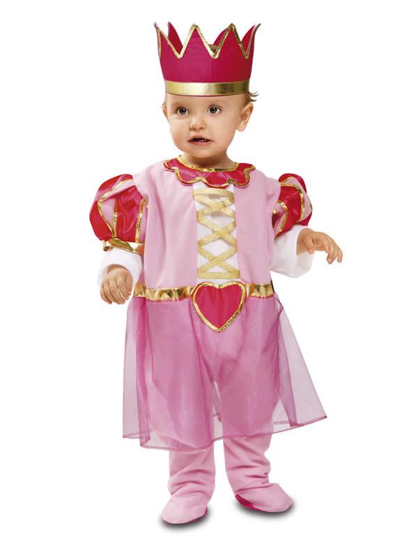 disfraz de princesa para bebe