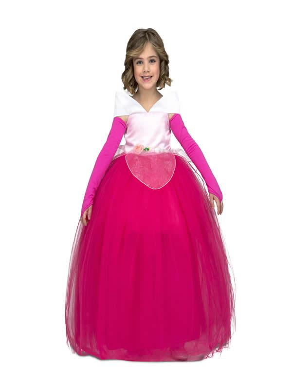 disfraz de princesa rosa tutu niña