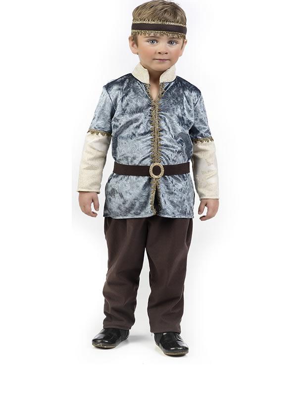 disfraz de principe medieval bebe