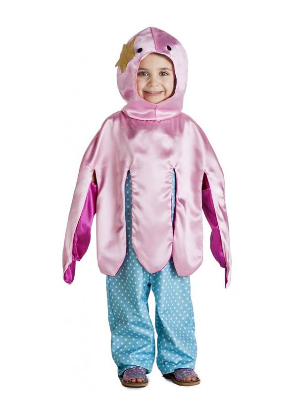 disfraz de pulpo niña