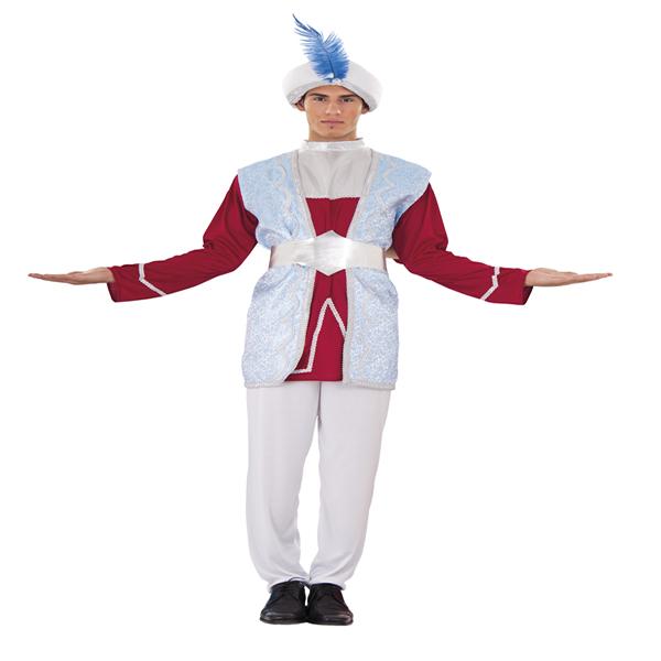 disfraz de raja hombre adulto