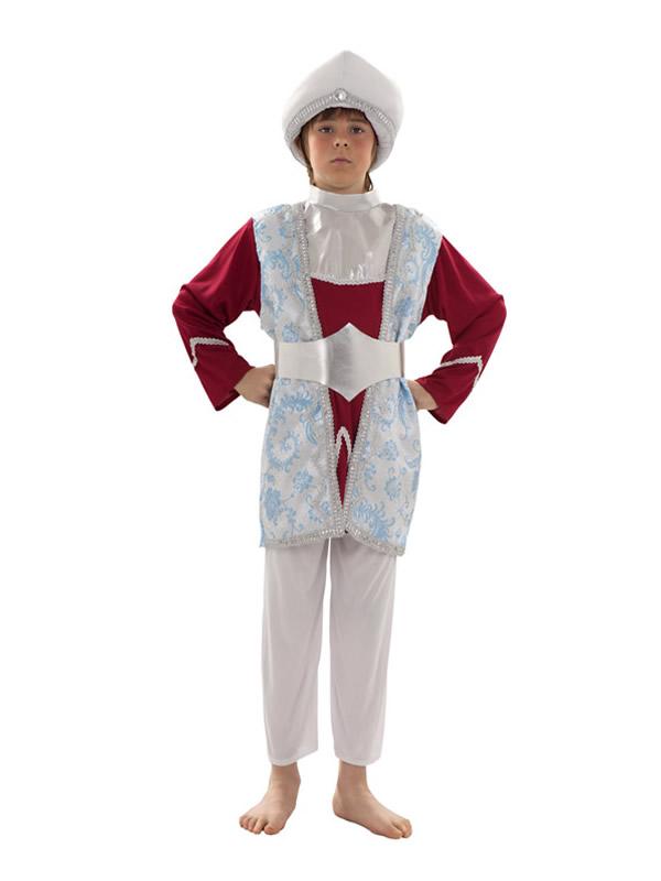 disfraz de raja para niño