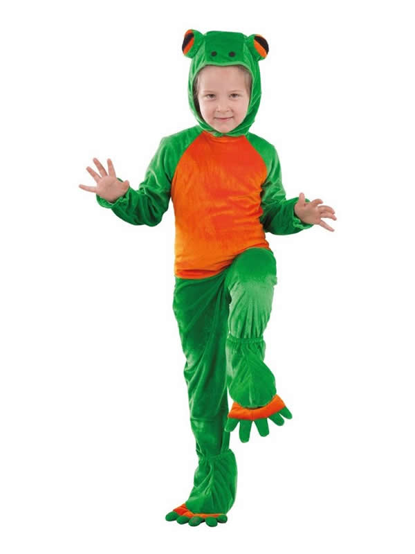disfraz de rana para bebe