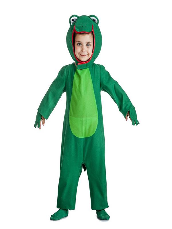 disfraz de rana verde para niño