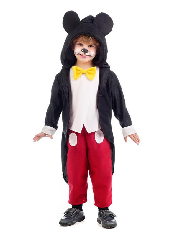 disfraz de rat%C3%B3n mickey nino MB736 - Los 10 mejores disfraces de animales infantiles para comprar