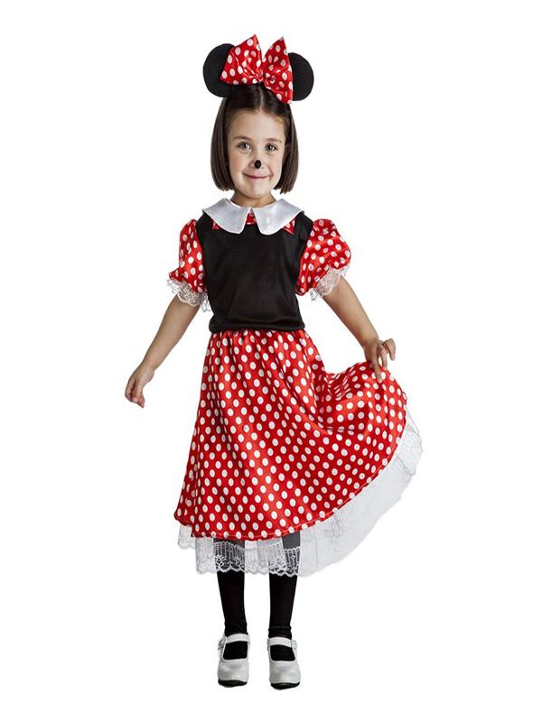 disfraz de ratoncita minnie para nina k0917 - Ideas para disfrazarse de Disfraces en Pareja Infantiles