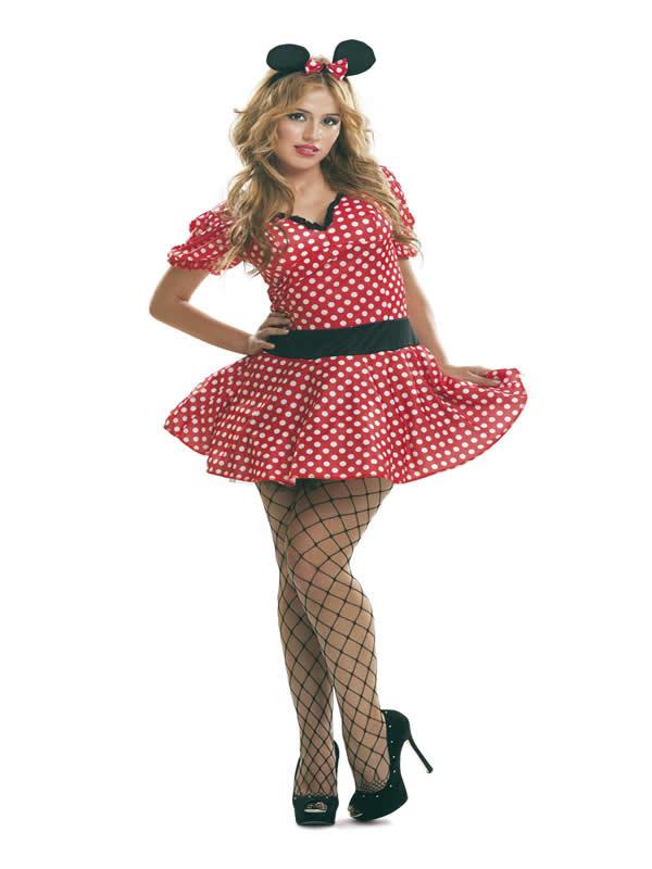 disfraz de ratoncita minnie sexy mujer