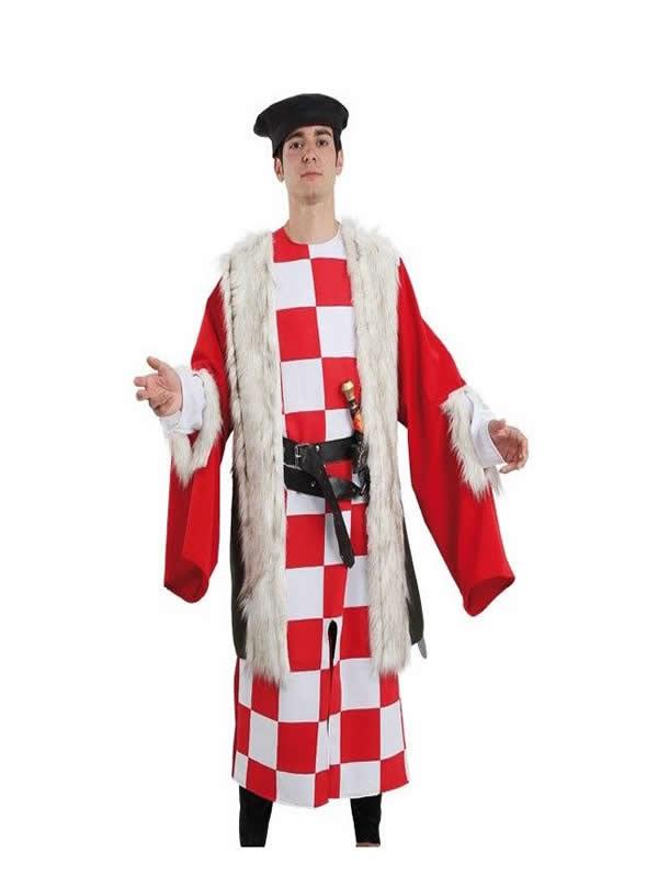 disfraz de regidor medieval para hombre