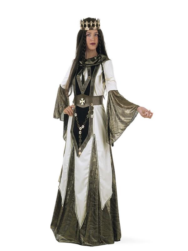 disfraz de reina de las cruzadas mujer li103 - Festival Ducal de Pastrana