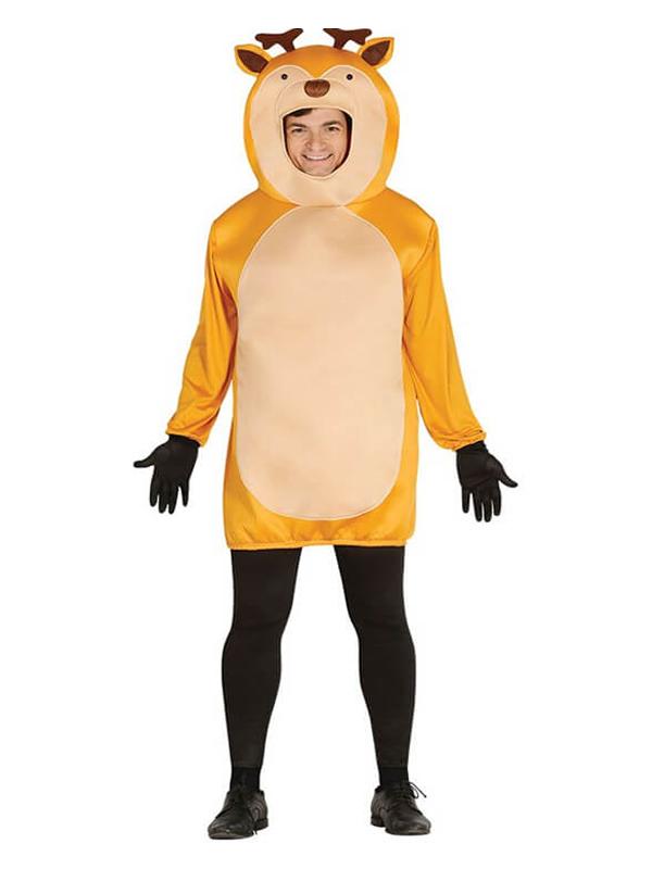 disfraz de reno marron para adultos