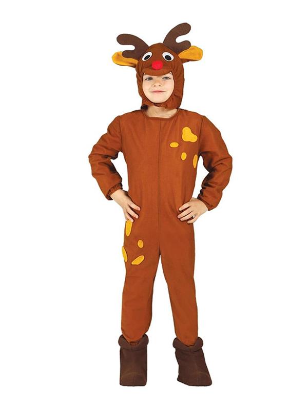 disfraz de reno navideño infantil