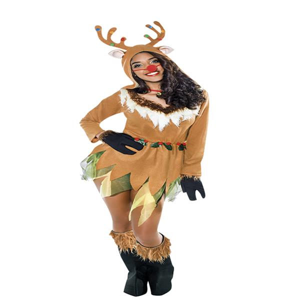 Disfraz de reno rudolf mujer adulto comprar barato - Disfraz de reno nina ...