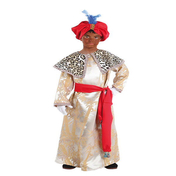 disfraz de rey baltasar nino varias tallas fy1071 - Tu Belén Viviente para Navidad