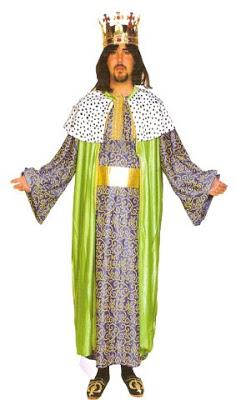 disfraz de rey mago gaspar adulto