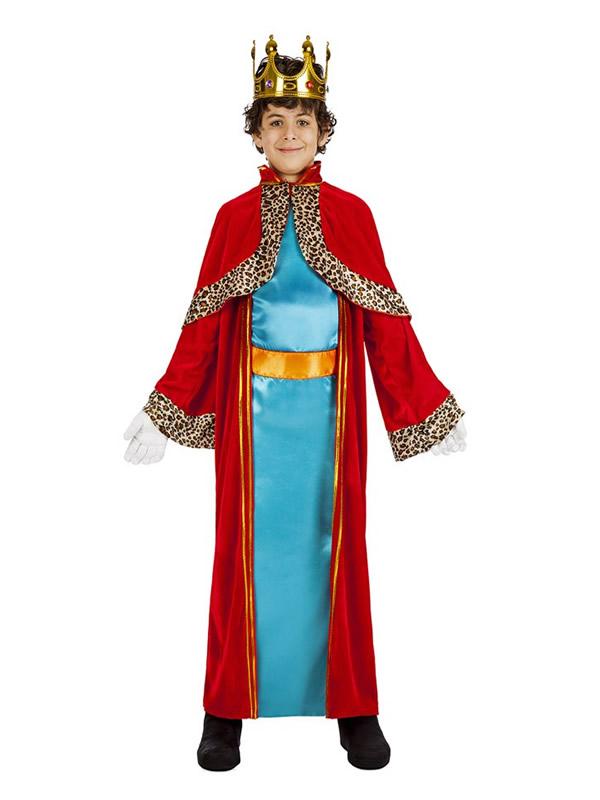 disfraz de rey mago melchor para niño